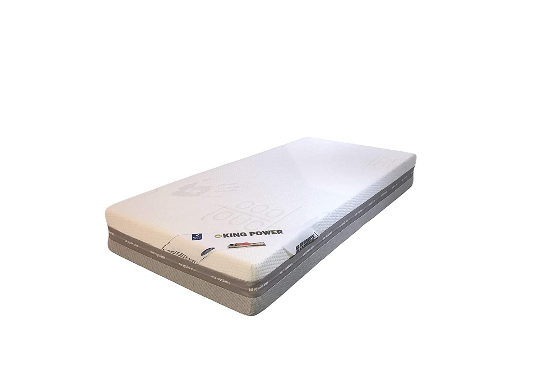 King Power colchón ERGO látex 80 kg/m3 + memoria de forma 55 kg/m3 – altura 25 cm apoyo granja, 140 x 190 cm: Amazon.es: Hogar