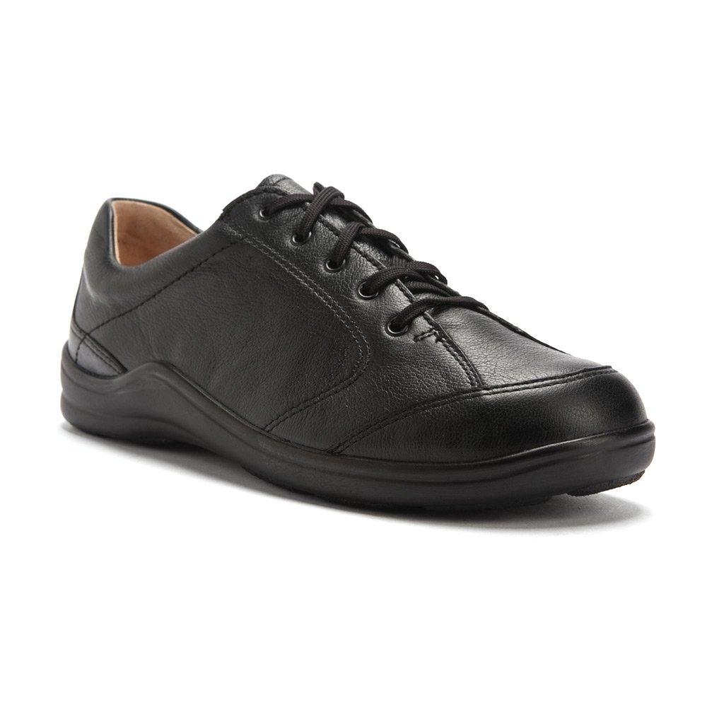 Finn Comfort Women's Cusco Lace-up Sneaker B0013LHBNY 41 M EU|Black