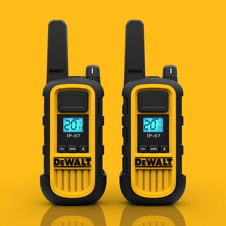 DeWALT DXFRS800 2W Walkie Talkies Heavy Duty Business Two-Way Radios (Pair) by DEWALT (Image #10)
