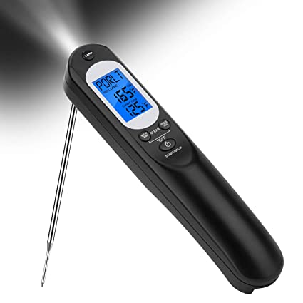 Inkbird IHT-1P Digital BBQ Einstechthermometer Wasserfest Wiederaufladbar Braten