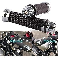 "Empuñadura de Manillar de Motocicleta de 7/8"" 22mm"