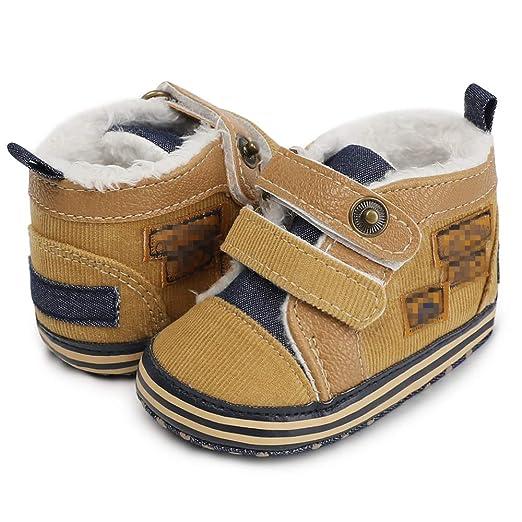 Morbuy Bebe Zapatos de Primeros Pasos 0-18 Meses Recién Nacido Cuna Suela Niño Blanda Antideslizante Zapatillas: Amazon.es: Ropa y accesorios