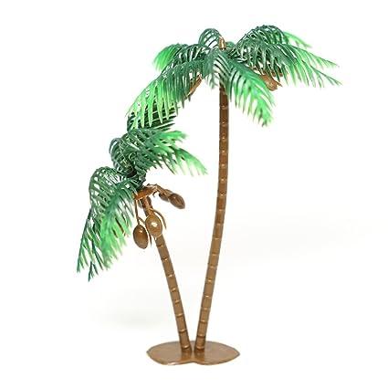 Amazon.com: 4 Large Palmeras con coco Pastel Topper 5