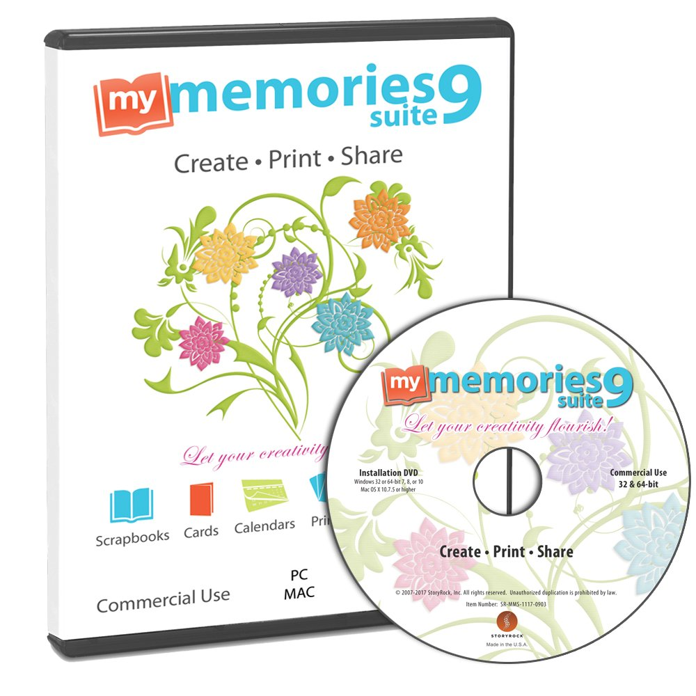 My Memories Suite 9 Digital Scrapbooking Software [Mac and PC] by MyMemories