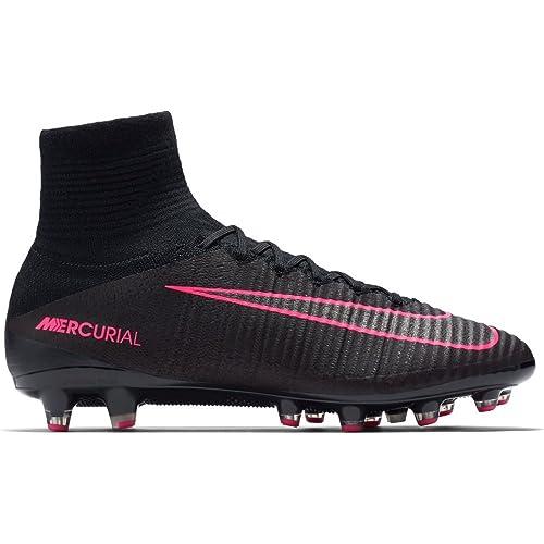new product 9796c 83821 Nike Mercurial Superfly V AG-Pro, Botas de fútbol para Hombre, Negro Black