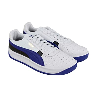 ed9a6900e49 PUMA Gv Special + Colorblock Mens White Leather Low Top Sneakers Shoes