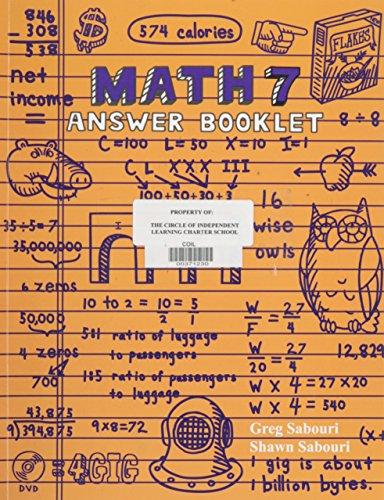 Math Answer Key (Teaching Textbooks Math 7 Answer)