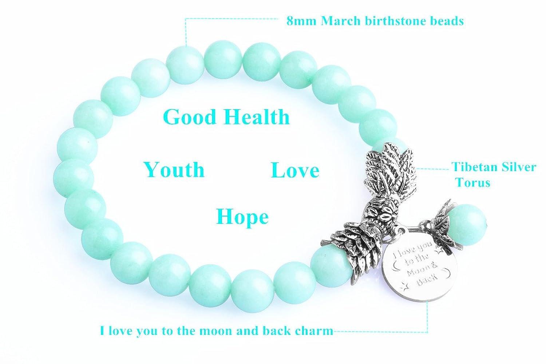 Bella Vida Womens Birthstone Bracelet Crystal Image 2
