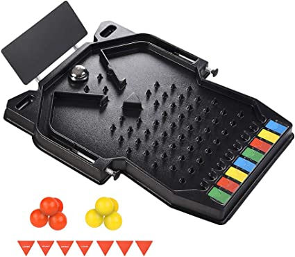 Introductory Price Mini Black Plinko Game with LED Lights Limited Time Only!