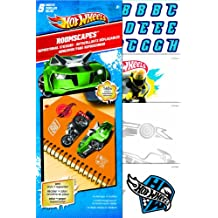 Trends International Sandylion Hot Wheels Roomscape Mini Wall Accent Stickers, 6 by 10-Inch