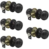 5 Pack Probrico Interior Bathroom Privacy Keyless Doorknobs Door Lock Lockset 609-ORB-BK in Oil Rubbed Bronze