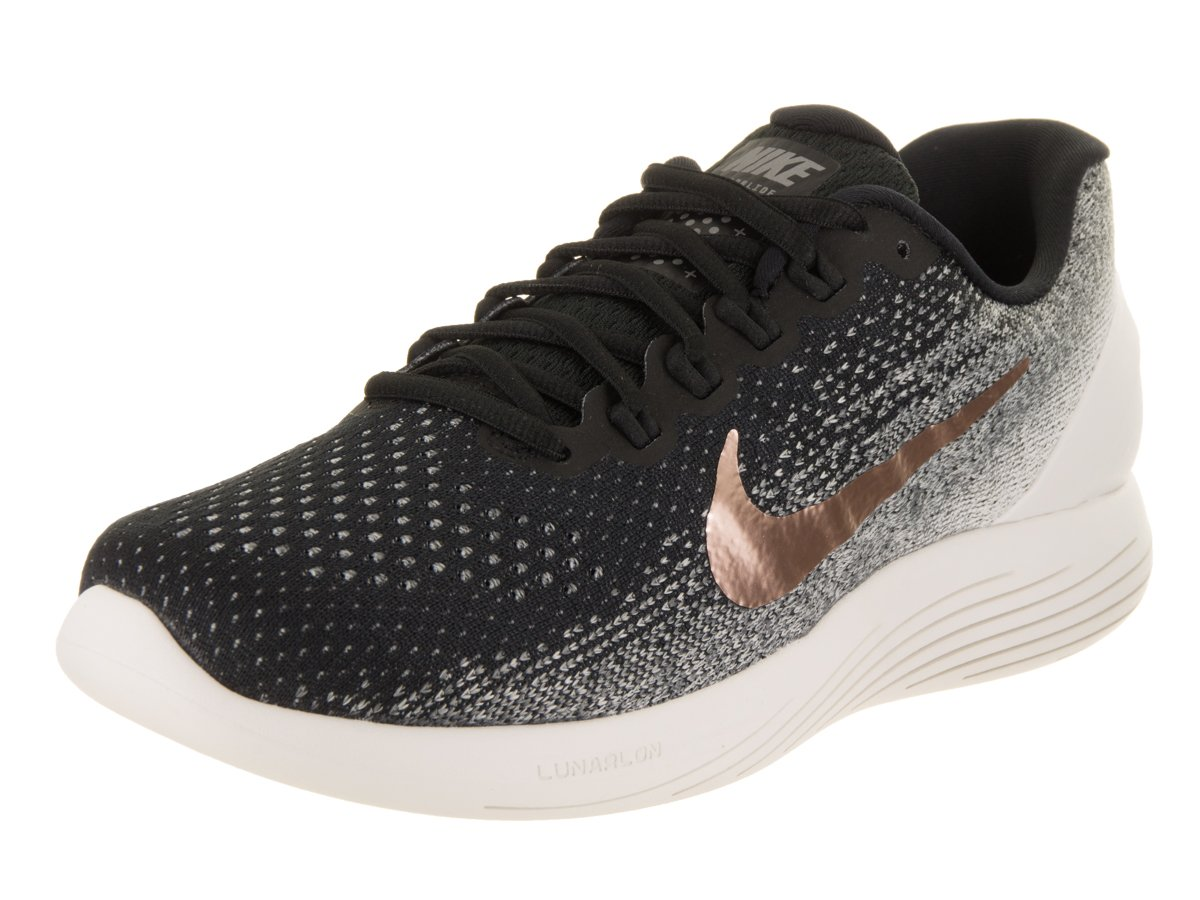 Nike Lunarglide 9 X-Plore, Zapatillas de Running para Hombre 44 EU Negro (Black/Mtlc Red Bronze/Summit White)