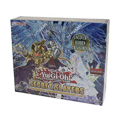 Yu-Gi-Oh! TCG: Secret Slayers Booster Display (24): Toys & Games