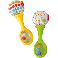 Fisher Price - Rattle 'N Rock Maracas Green & Yellow