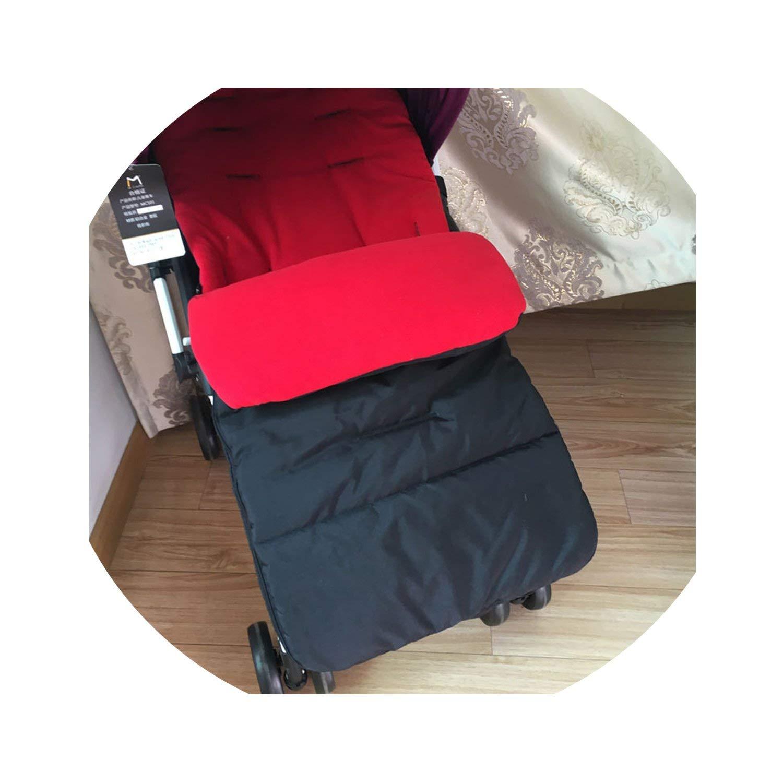 SP WHY 1pc/lot Winter Autumn Baby Infant Warm Sleeping Bag Baby Stroller Sleeping Bag Waterproof,red,18M