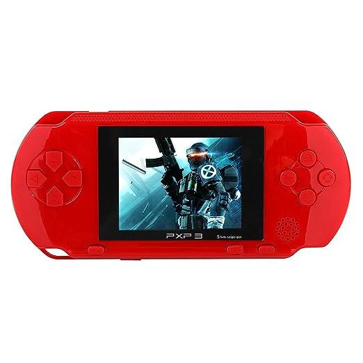 26 opinioni per JouerNow Rosso PXP 3 Console Slim portatile 16 bit Consolle Retro Video 150+