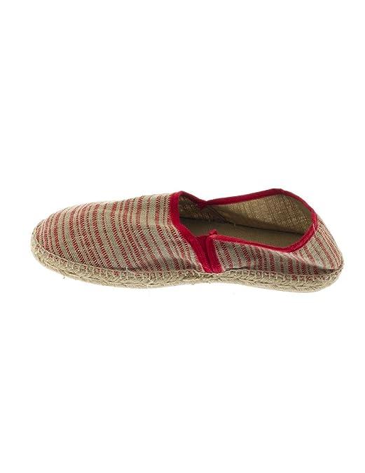 Alpargata Scalpers Vivo Espadrille Rojo/Beige: Amazon.es: Zapatos y complementos