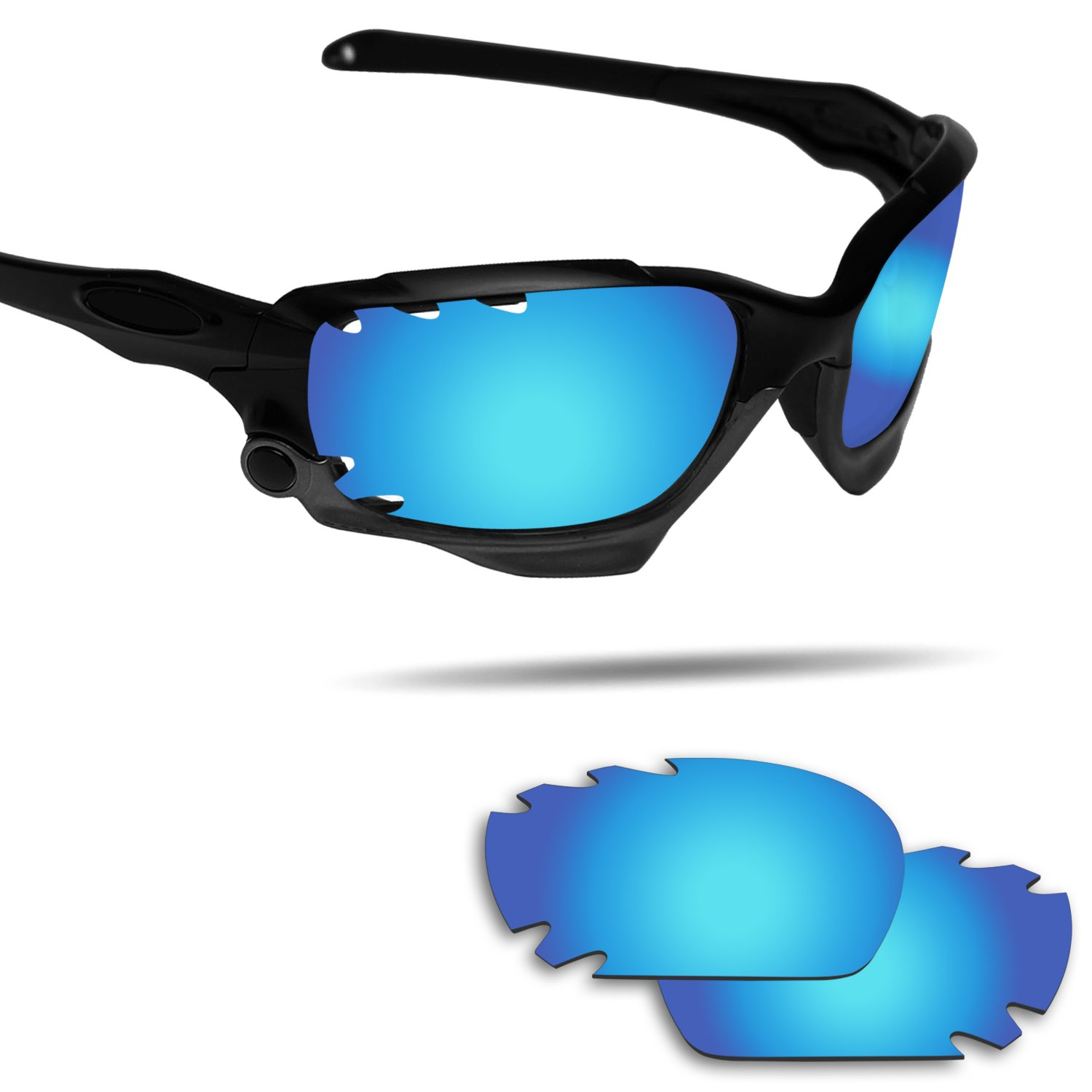 Fiskr Anti-Saltwater Replacement Lenses for Oakley Jawbone Vented Sunglasses - Various Colors by Fiskr