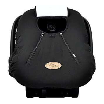 Cozy Cover Infant Car Seat Black