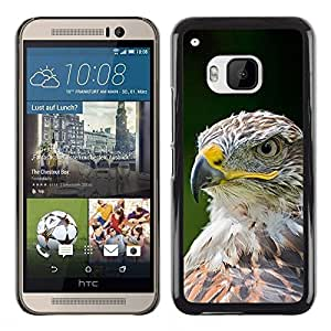 Plastic Shell Protective Case Cover || HTC One M9 || Bird Feathers Green Summer @XPTECH