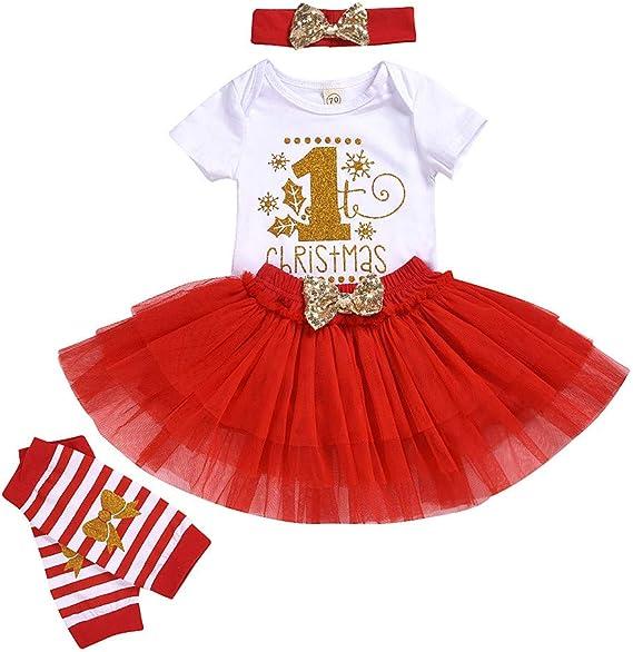 0-2 Años, SO-buts Recién Nacido Bebés Niñas Navidad Primer ...