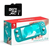 """Newest Nintendo Switch Lite Game Console, 5.5"""" LCD Touchscreen Display, Built-in Plus Control Pad, W/Hesvap 128GB Micro…"""