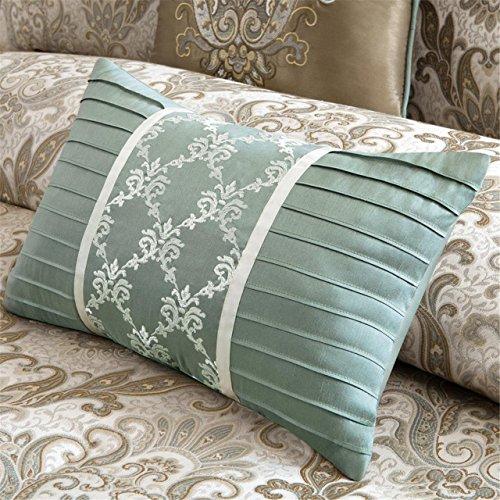 Jacquard Comforter Madison - MADISON PARK SIGNATURE Pierce 8 Piece Comforter Set Ivory Queen