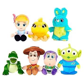 Posh Paws Peluches de 4 Personajes de Toy Story: Woody ...