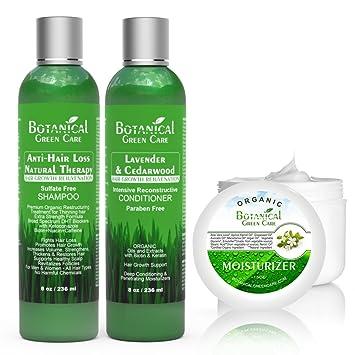 Amazon Com Value Set Anti Hair Loss Premium Organic Sulfate Free
