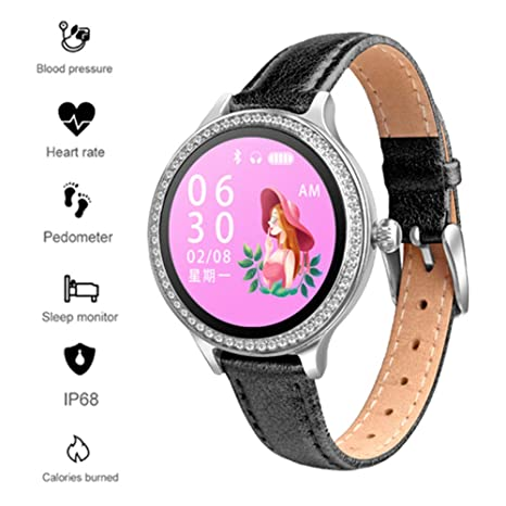 Amazon.com: Bluetooth Smart Watch, TechCode Elegant Activity ...