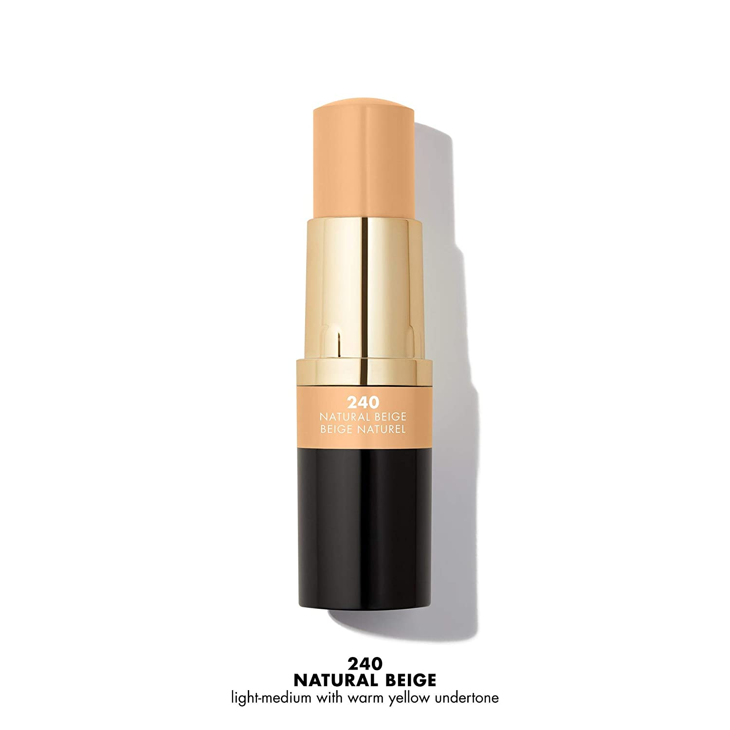 Milani Conceal + Perfect Foundation Stick - Warm Beige (0.46 Ounce) Vegan, Cruelty-Free Cream Foundation - Cover Under-Eye Circles, Blemishes & Skin Discoloration for a Flawless Finish