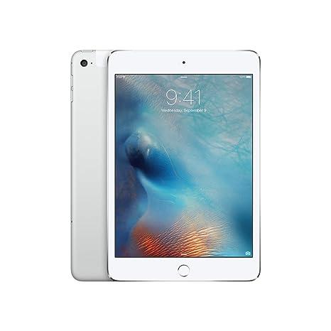 Ultramoderne Amazon.com : Apple iPad mini 4 (Wi-Fi + Cellular, 128GB) - Silver : OW-31