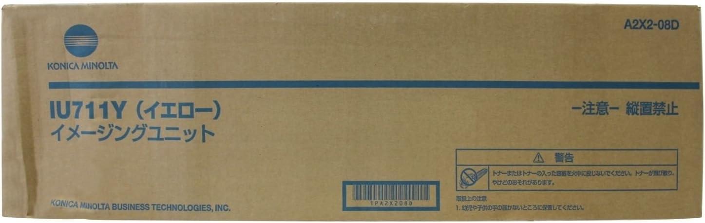 Genuine Konica Minolta IU711Y Yellow Imaging Unit for Bizhub C654 C754