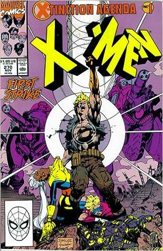 Amazon.com: The Uncanny X-Men #270: First Strike (X-Tinction ...