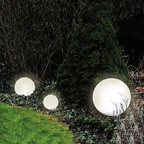 LED Außenleuchte Marlon D50cm Kugelleuchte mit Erdspieß inkl. LED Leuchtmittel 5 Watt