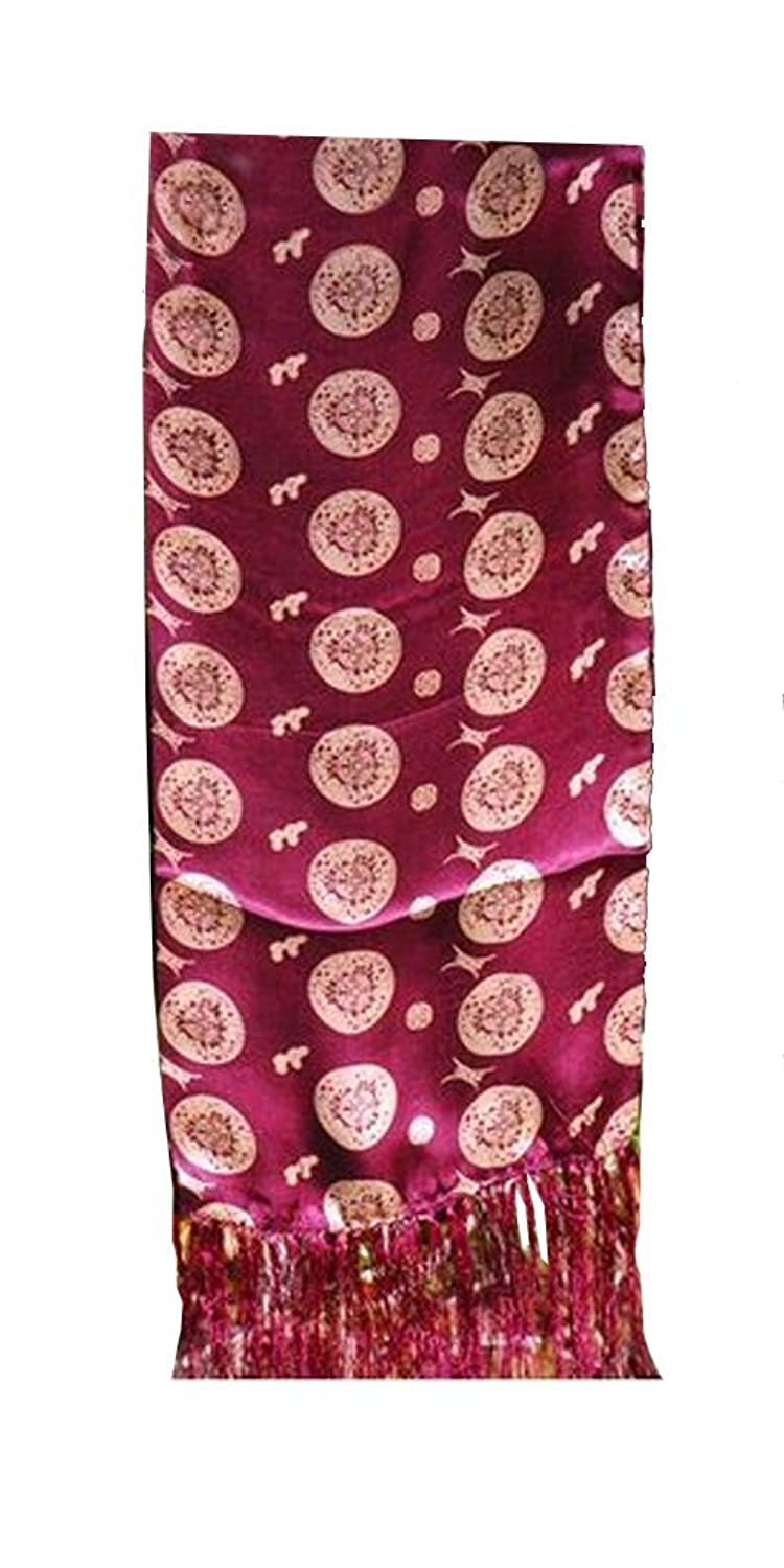 Silk Scarf - Chinese Ancient Good Fortune