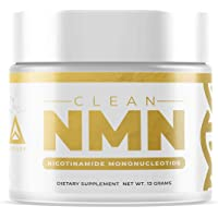 Clean NMN Powder: Nicotinamide Mononucleotide Supplement | NAD+ Precursor | Healthy Aging DNA-Repair | Better Than Riboside (Unflavored - 13 Grams)