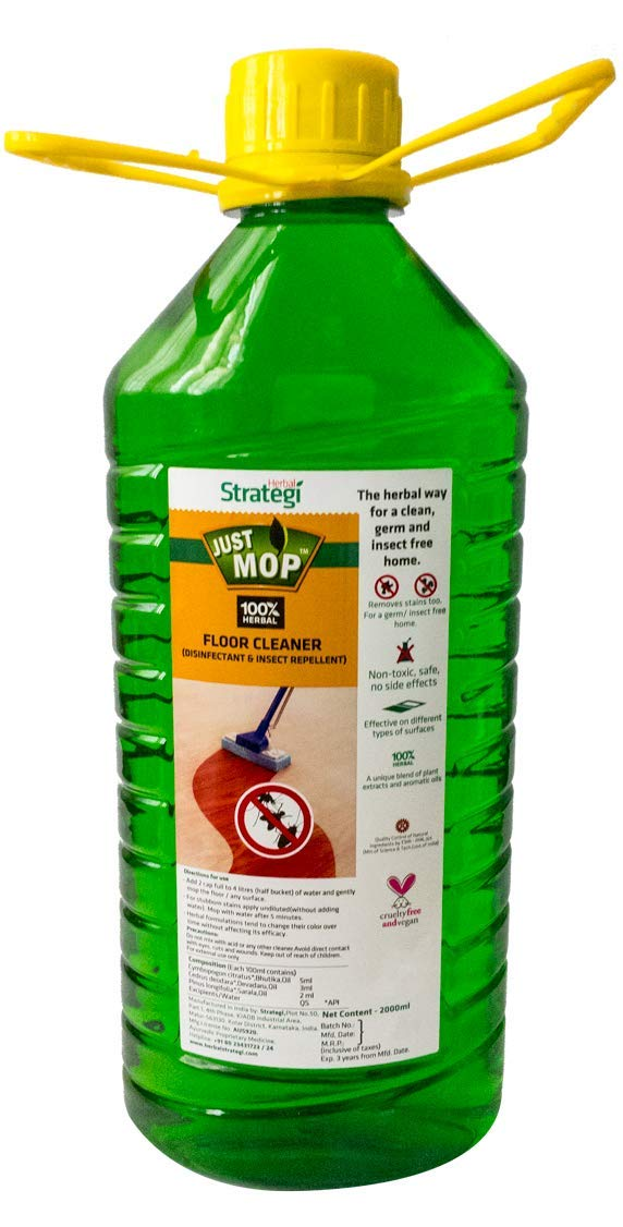 STRATEGI Disinfectant and Insect Repellent Herbal Floor Cleaner