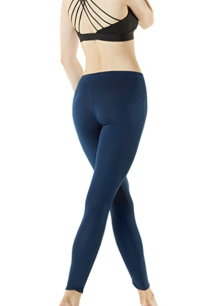 a396862b2c TM-FUP09-NVY_Large Tesla Women's Compression Pants Cool Baselayer Tights  Leggings FUP09