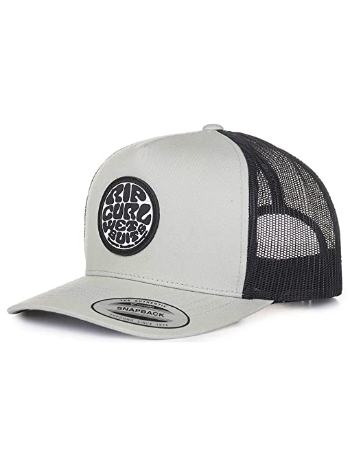Rip Curl Trucker Snapback Cap ~ Original Wetty Grey: Amazon.es ...