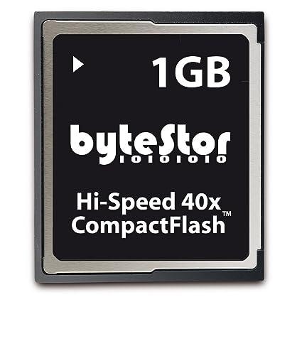 ByteStor - Tarjeta CompactFlash 1 GB alta velocidad 40x ...