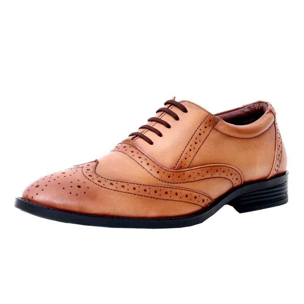Leather Teak Formal Shoes