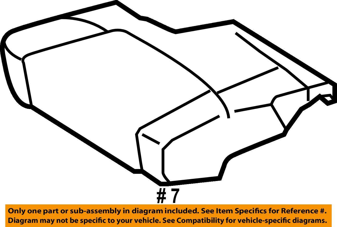 TOYOTA Genuine 71511-AC090 Seat Cushion Pad