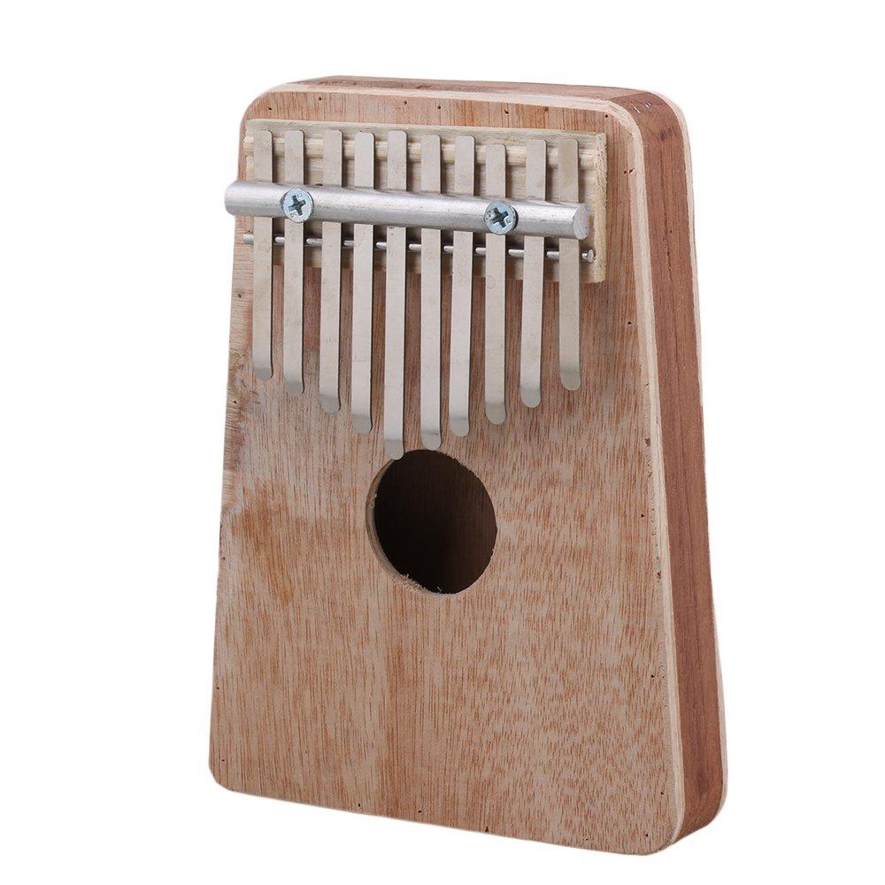 Yibuy 10 Keys Wood Thumb Piano Kalimba Mbira Likembe Sanza etfshop Yibuy240