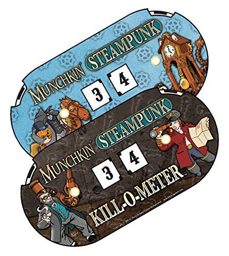 Steve Jackson Games Munchkin Steampunk Kill-O-Meter Card Game 4
