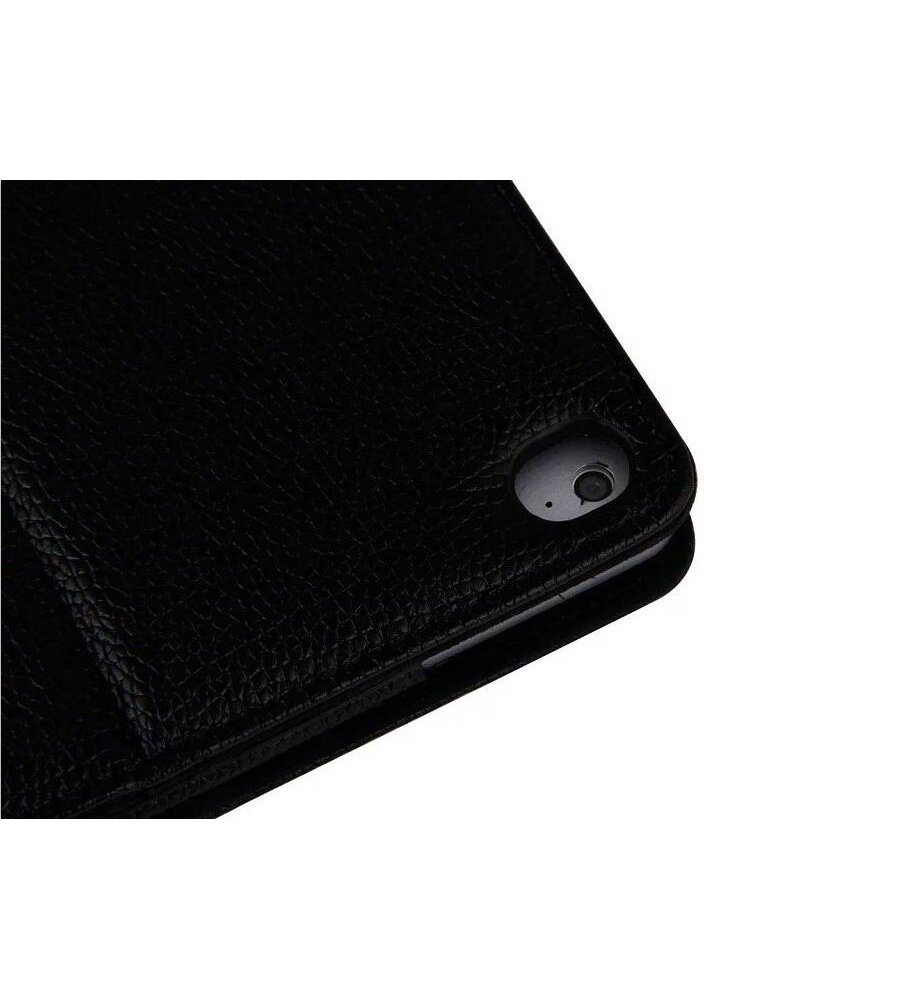 """iPad Pro 12.9 inch Keyboard Case,Genjia Folding Leather Stand Smart Shell Impact Resistance Back Cover Slim Durable Detachable Removable Wireless Bluetooth Keyboard for Apple iPad Pro 12.9"""" (Black) by Genjia (Image #9)"""
