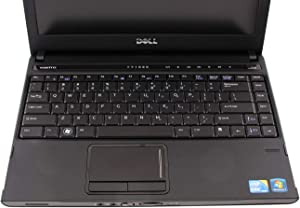 Dell Vostro 3300 13.3 Inch Business Laptop, Intel Core i3-350M 2.6GHz, 4G DDR3L, 320G, WiFi, VGA, HDMI, Windows 10 Pro 64 Bit Multi-Language Support English/French/Spanish(Renewed)