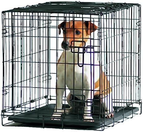 Savic Dog Cottage - Caja para Perro (61 x 44 x 50 cm), Color Negro: Amazon.es: Productos para mascotas