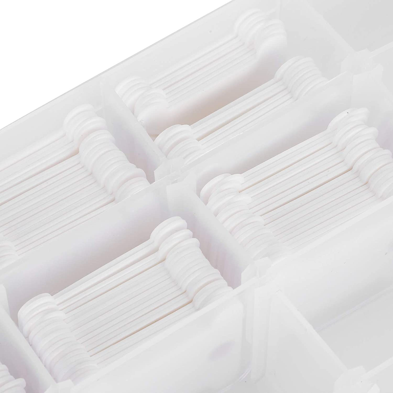 120 piezas de tabla de bobinado de punto de cruz organizador de hilos de punto de cruz para facilitar las operaciones de costura, Fuerte y duradero