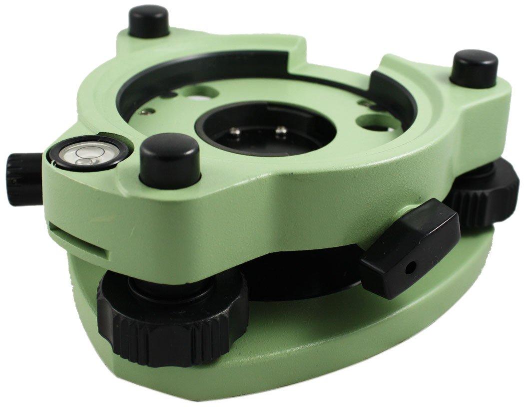 SitePro 05-1200-GN Tribrach with Optical Plummet, Green by SitePro B0098TKDBU